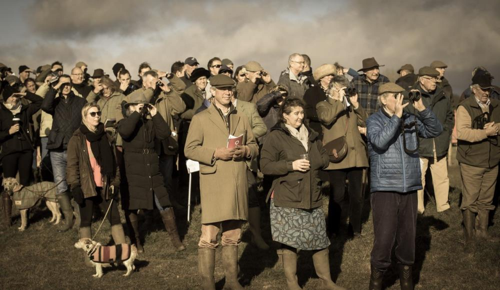 Rivitted crowd in faded colour - Photograph supplied by Melissa Bastin
